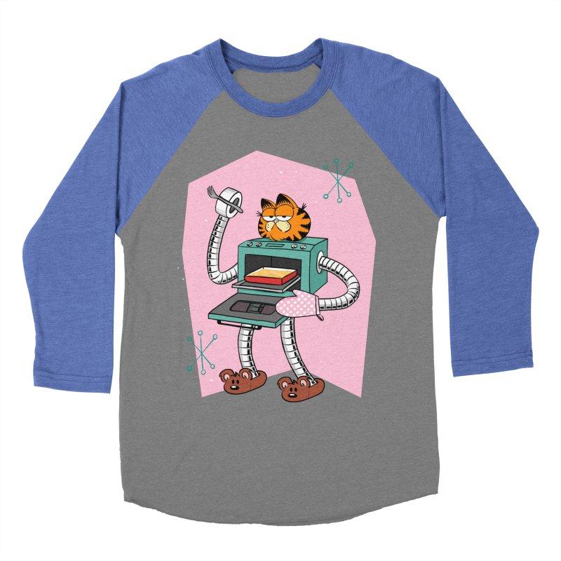 Garfield LOD (Lasagna On Demand) Women's Baseball Triblend Longsleeve T-Shirt by Blasto's Artist Shop