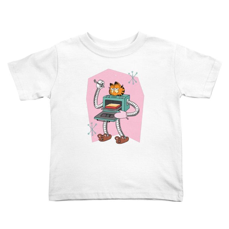 Garfield LOD (Lasagna On Demand) Kids Toddler T-Shirt by Blasto's Artist Shop