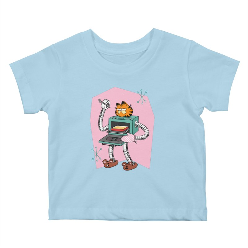 Garfield LOD (Lasagna On Demand) Kids Baby T-Shirt by Blasto's Artist Shop