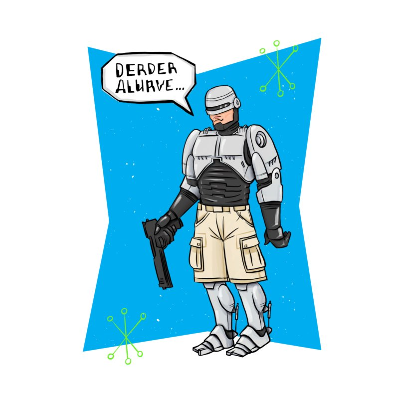 RoboClerp (Ermagerd robots wearing cargo shorts) by Blasto's Artist Shop