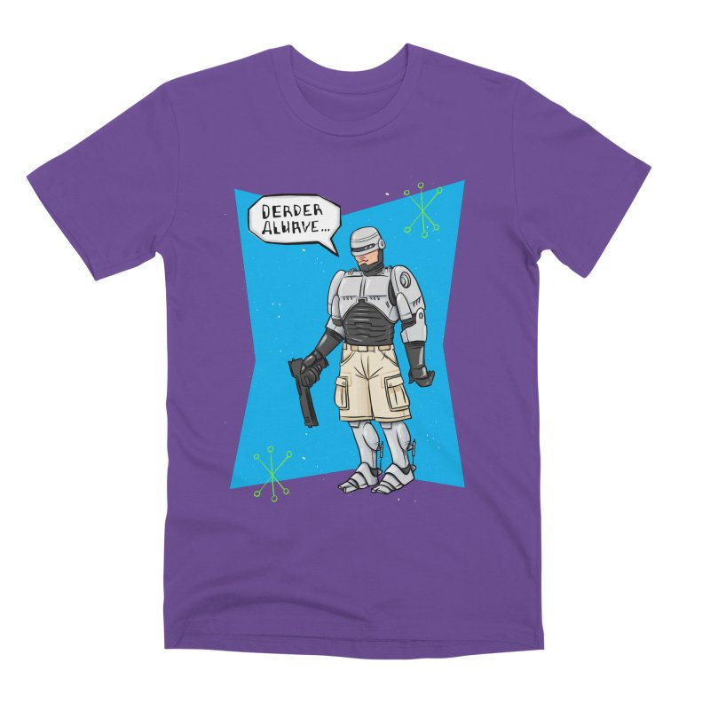 RoboClerp (Ermagerd robots wearing cargo shorts) Men's Premium T-Shirt by Blasto's Artist Shop