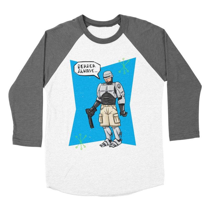 RoboClerp (Ermagerd robots wearing cargo shorts) Women's Longsleeve T-Shirt by Blasto's Artist Shop