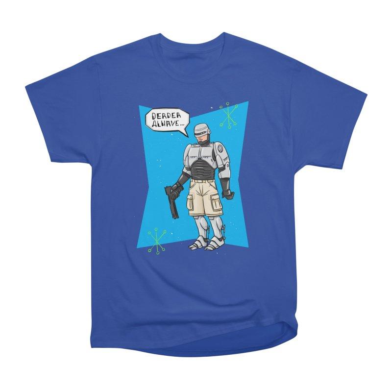 RoboClerp (Ermagerd robots wearing cargo shorts) Men's Heavyweight T-Shirt by Blasto's Artist Shop