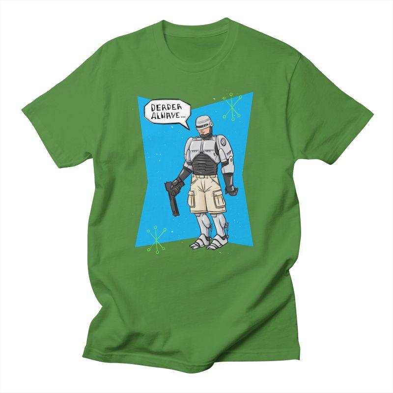 RoboClerp (Ermagerd robots wearing cargo shorts) Men's Regular T-Shirt by Blasto's Artist Shop