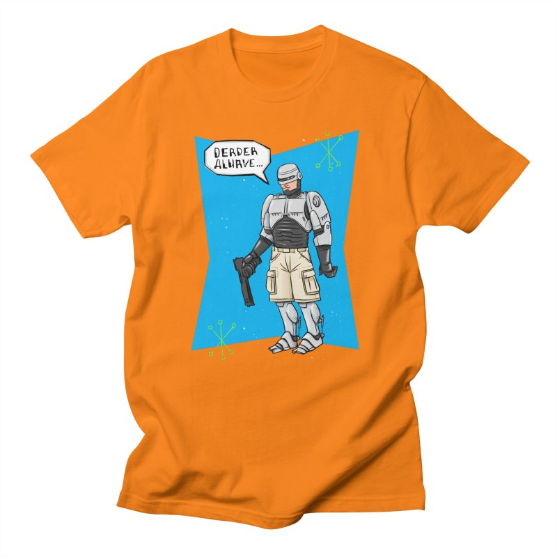 RoboClerp (Ermagerd robots wearing cargo shorts) Women's Regular Unisex T-Shirt by Blasto's Artist Shop