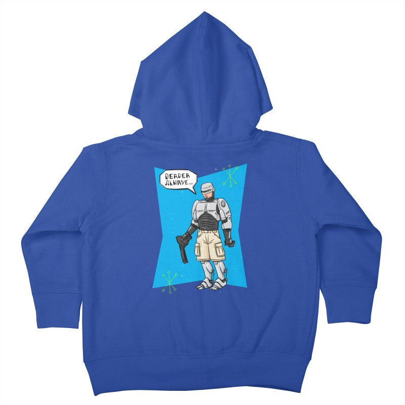 RoboClerp (Ermagerd robots wearing cargo shorts) Kids Toddler Zip-Up Hoody by Blasto's Artist Shop
