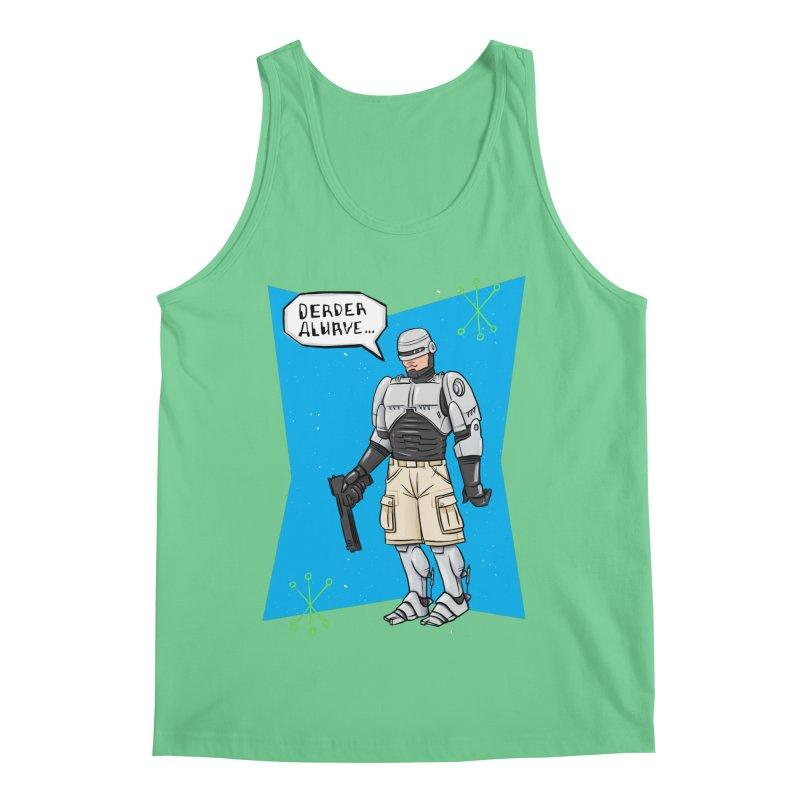 RoboClerp (Ermagerd robots wearing cargo shorts) Men's Regular Tank by Blasto's Artist Shop