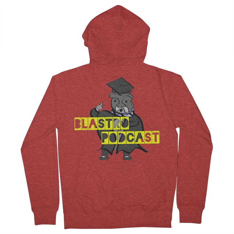 Dottore the Gray Women's French Terry Zip-Up Hoody by Blastropodcast's Shop