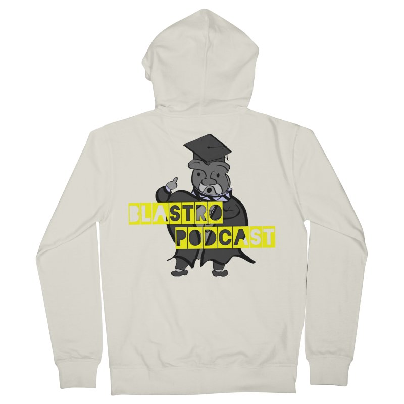 Dottore the Gray Men's Zip-Up Hoody by Blastropodcast's Shop