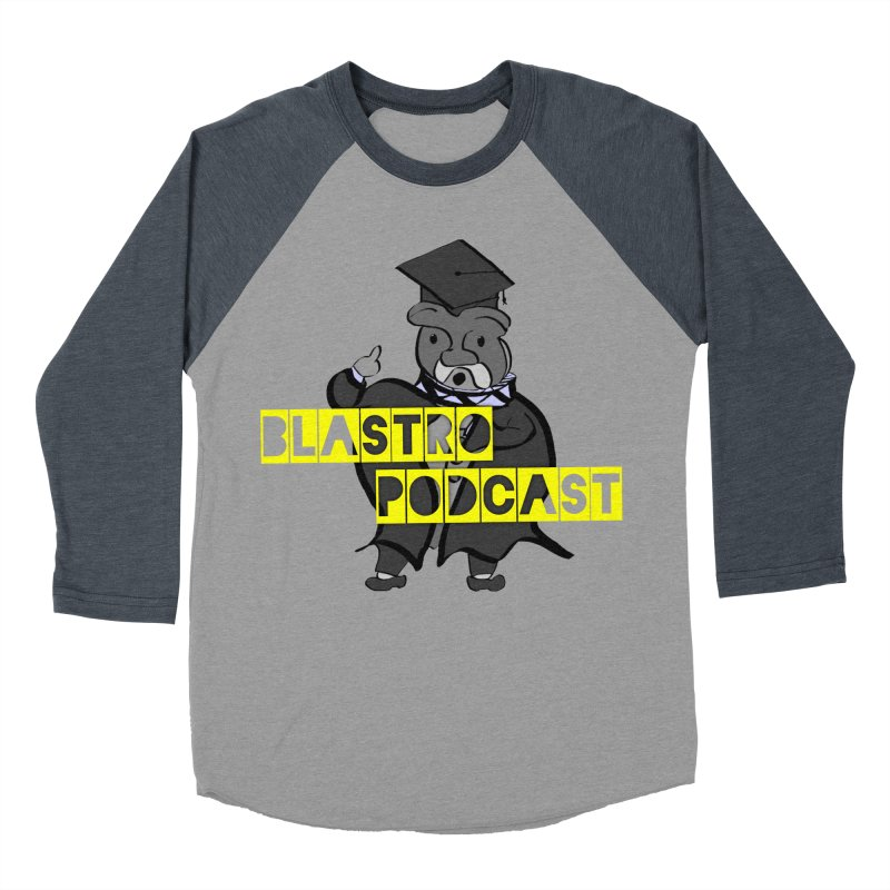 Dottore the Gray Men's Baseball Triblend Longsleeve T-Shirt by Blastropodcast's Shop