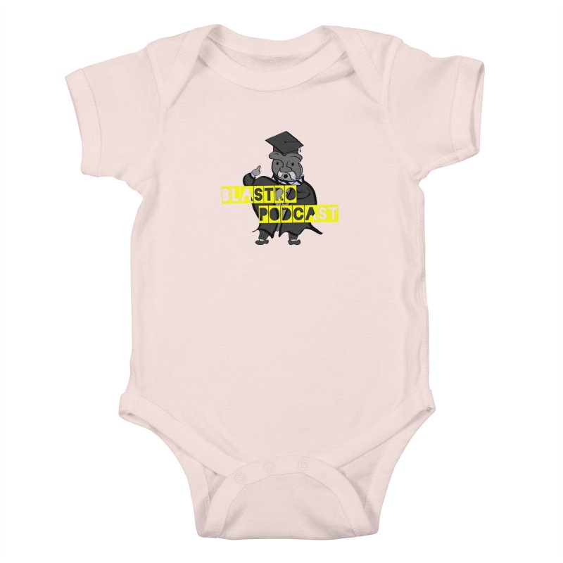 Dottore the Gray Kids Baby Bodysuit by Blastropodcast's Shop
