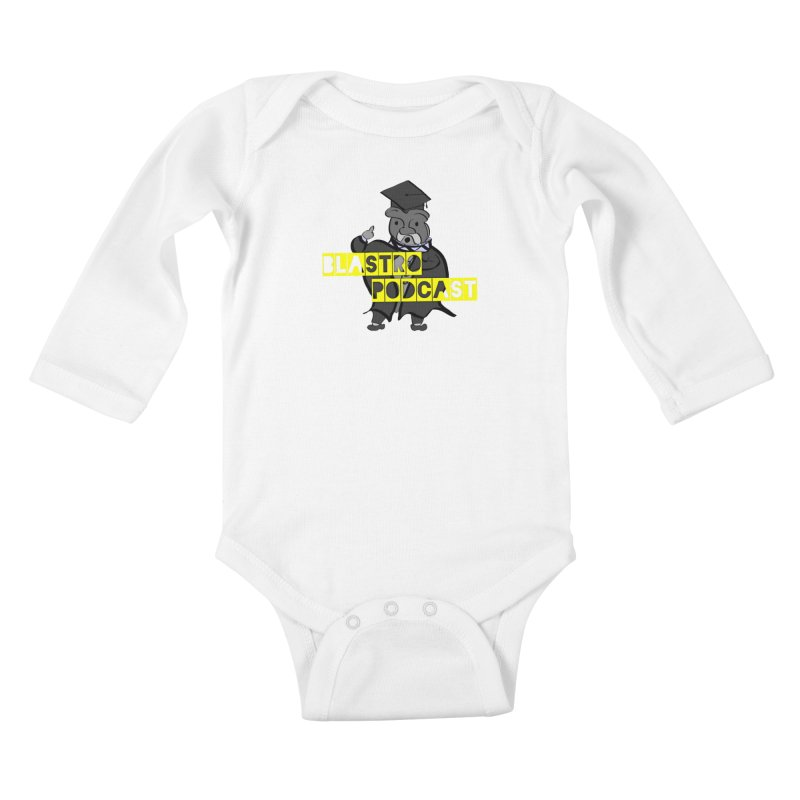 Dottore the Gray Kids Baby Longsleeve Bodysuit by Blastropodcast's Shop