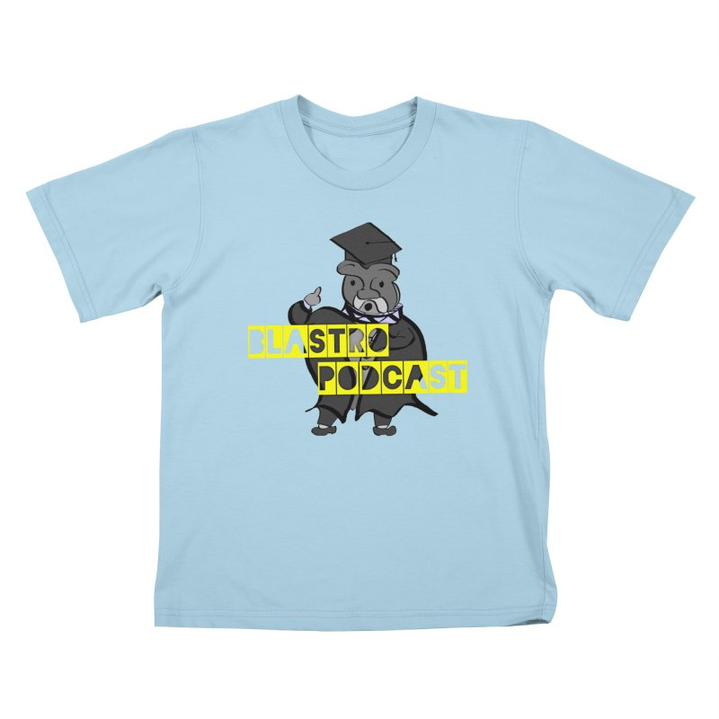 Dottore the Gray Kids T-Shirt by Blastropodcast's Shop