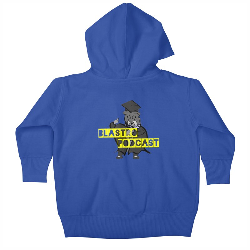 Dottore the Gray Kids Baby Zip-Up Hoody by Blastropodcast's Shop