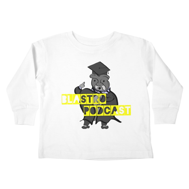 Dottore the Gray Kids Toddler Longsleeve T-Shirt by Blastropodcast's Shop