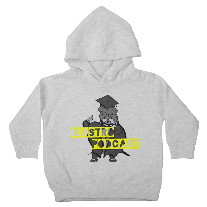 Dottore the Gray Kids Toddler Pullover Hoody by Blastropodcast's Shop