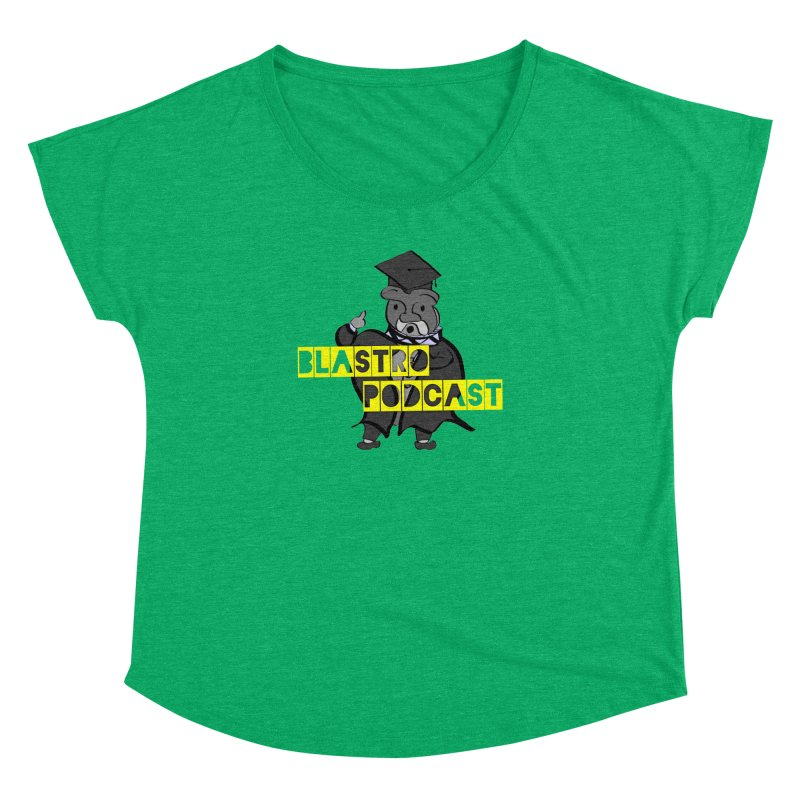 Dottore the Gray Women's Dolman by Blastropodcast's Shop
