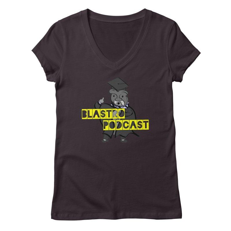 Dottore the Gray Women's V-Neck by Blastropodcast's Shop