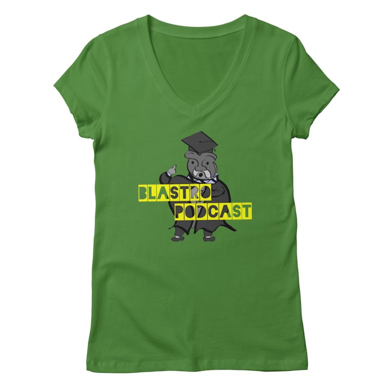 Dottore the Gray Women's V-Neck by Blastropodcast's Shop