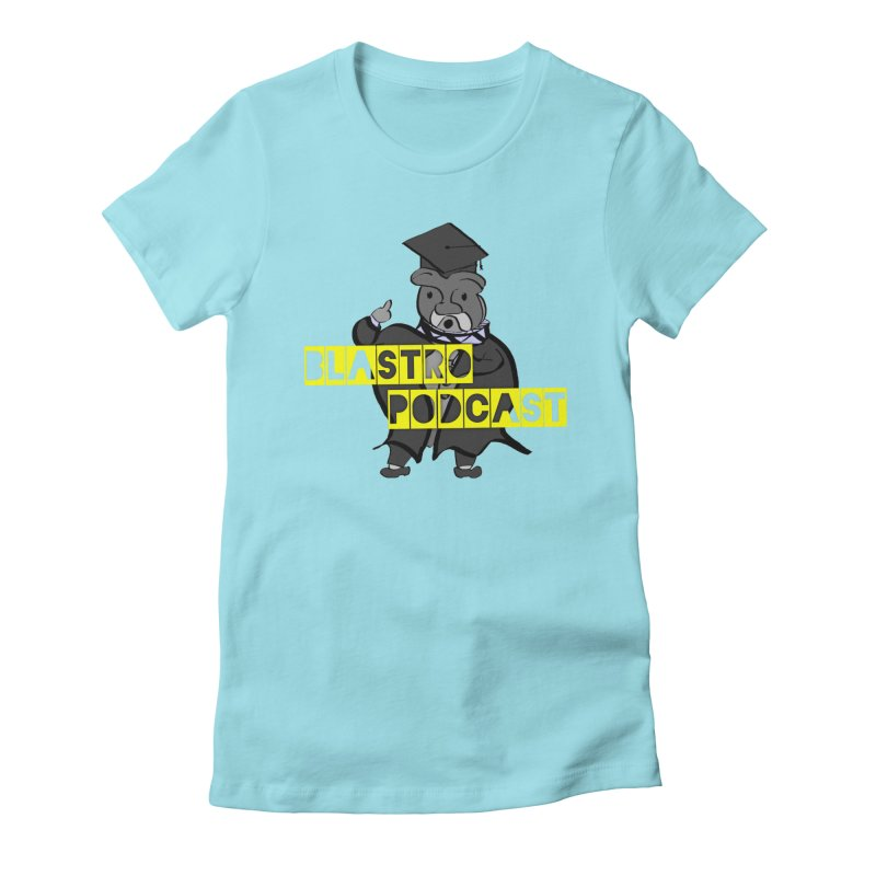 Dottore the Gray Women's Fitted T-Shirt by Blastropodcast's Shop