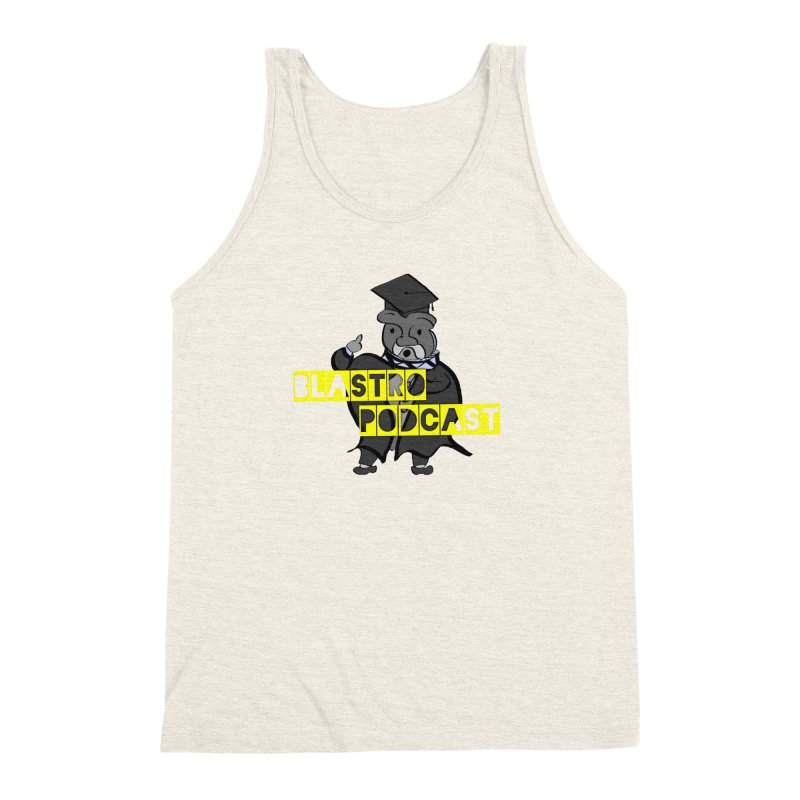 Dottore the Gray Men's Triblend Tank by Blastropodcast's Shop