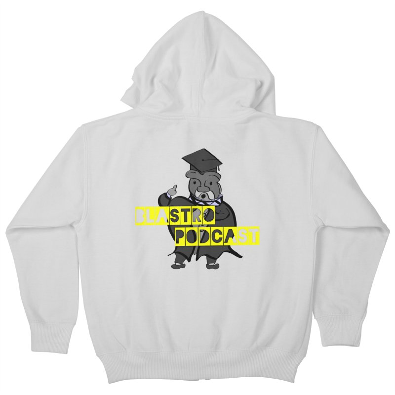 Dottore the Gray Kids Zip-Up Hoody by Blastropodcast's Shop