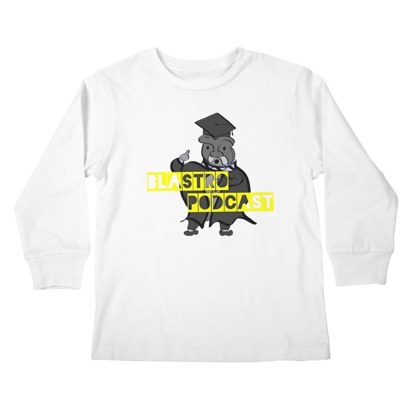 Dottore the Gray Kids Longsleeve T-Shirt by Blastropodcast's Shop