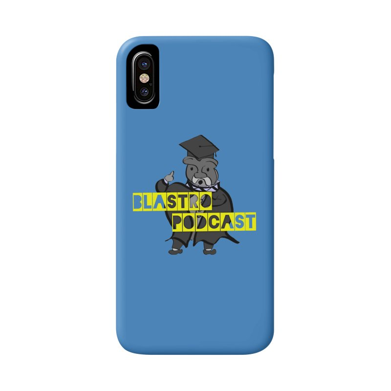 Dottore the Gray Accessories Phone Case by Blastropodcast's Shop