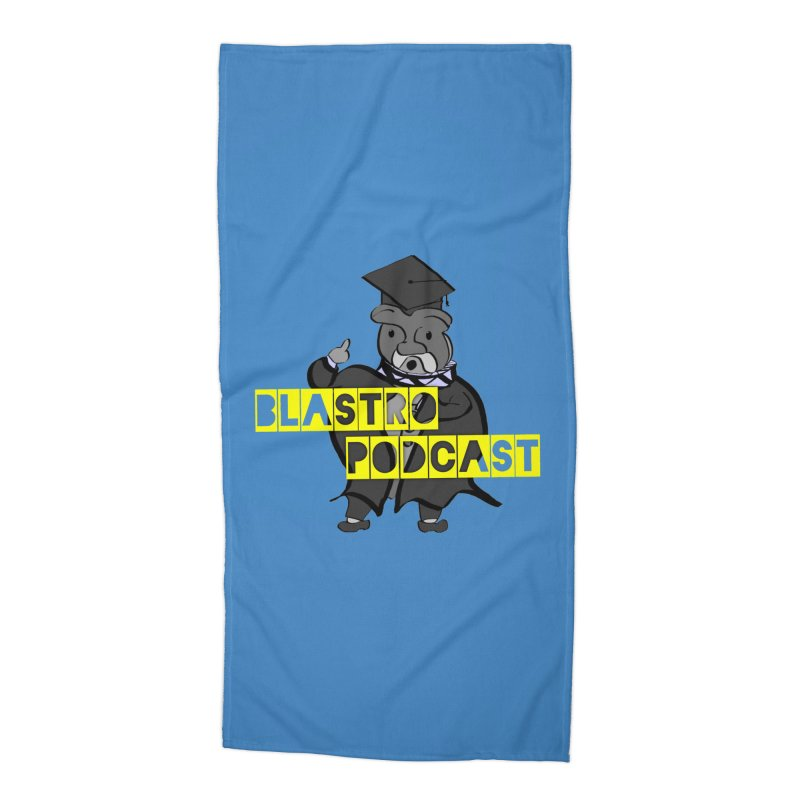 Dottore the Gray Accessories Beach Towel by Blastropodcast's Shop