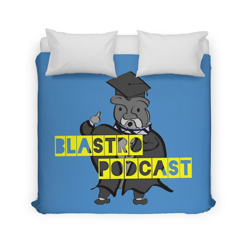 Dottore the Gray Home Duvet by Blastropodcast's Shop