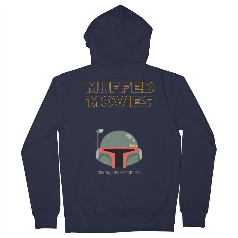 Muffed Movies: Horts, don't it? Men's Zip-Up Hoody by Blastropodcast's Shop