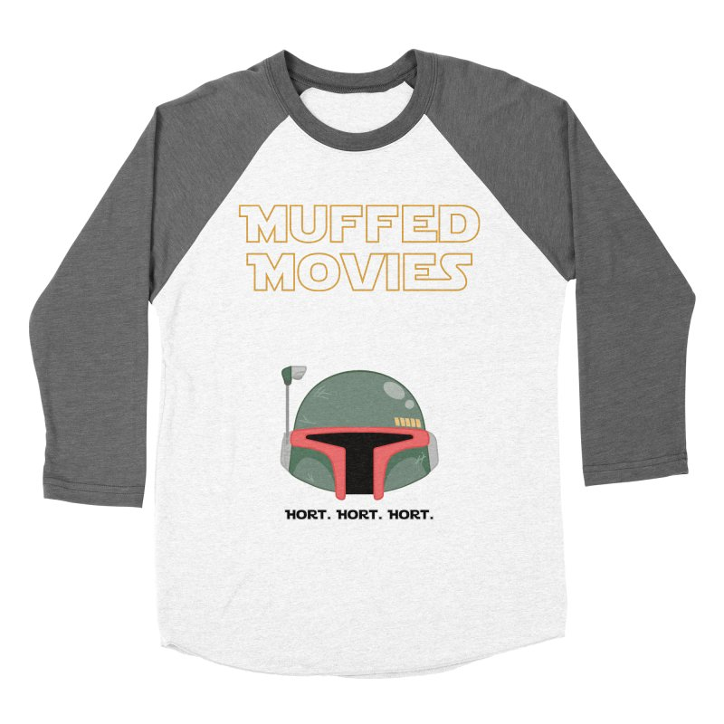 Muffed Movies: Horts, don't it? Men's Baseball Triblend T-Shirt by Blastropodcast's Shop