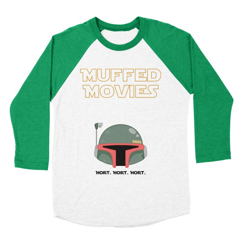 Muffed Movies: Horts, don't it? Men's Baseball Triblend Longsleeve T-Shirt by Blastropodcast's Shop