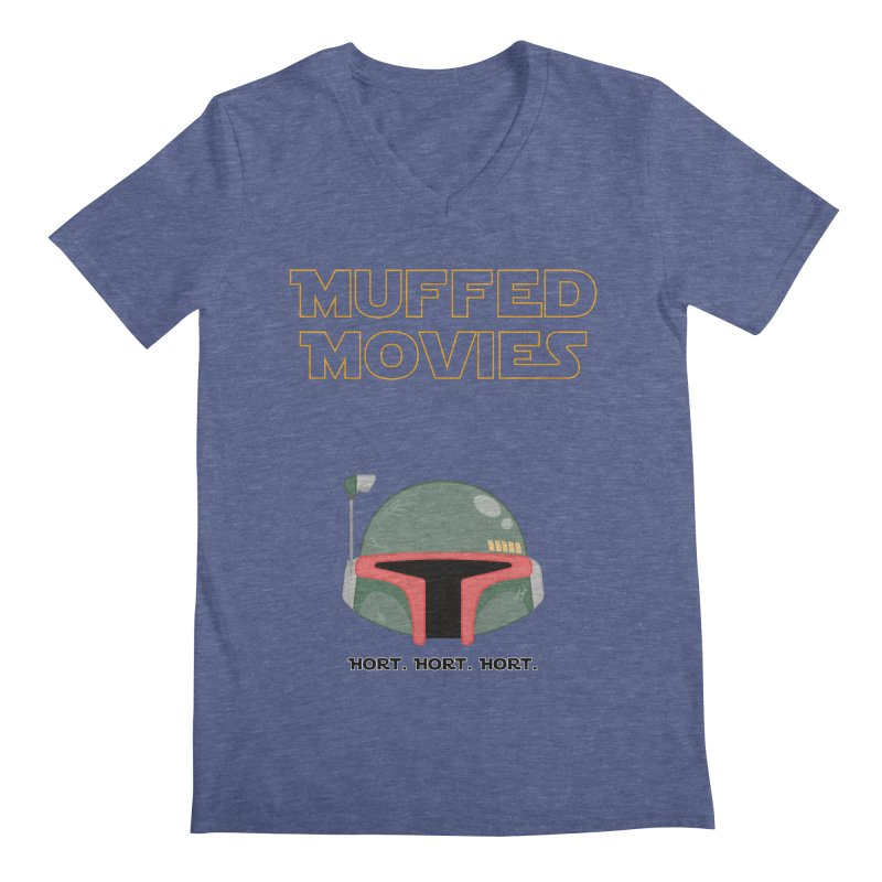 Muffed Movies: Horts, don't it? Men's Regular V-Neck by Blastropodcast's Shop