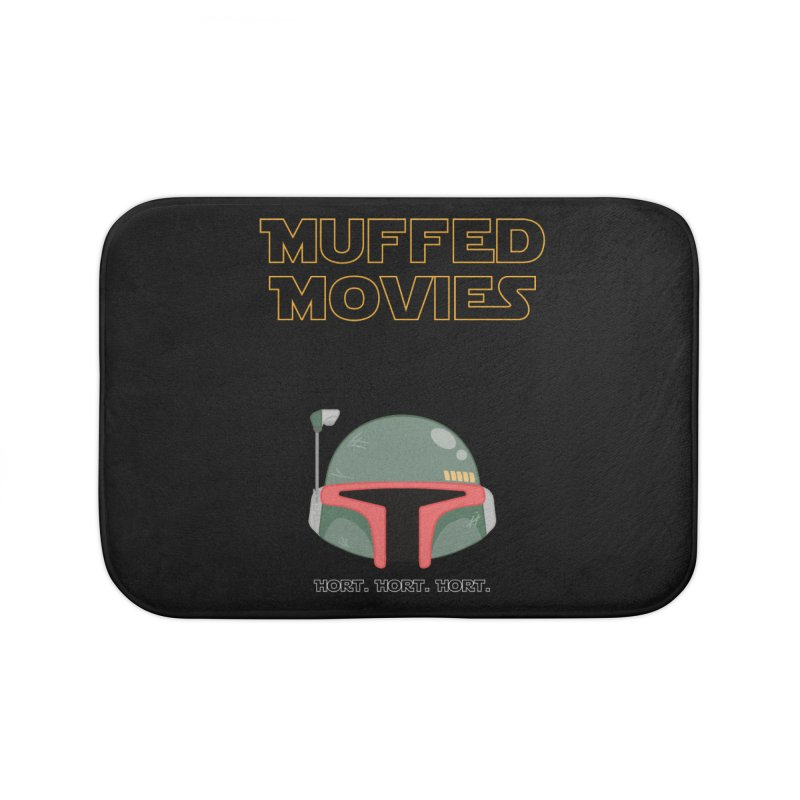 Muffed Movies: Horts, don't it? Home Bath Mat by Blastropodcast's Shop