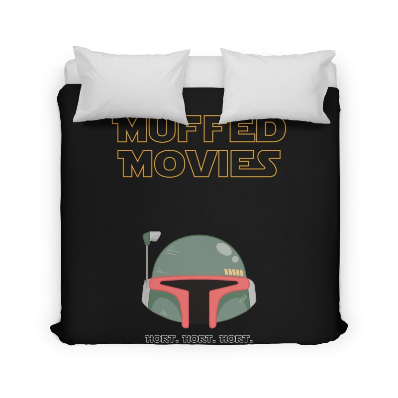 Muffed Movies: Horts, don't it? Home Duvet by Blastropodcast's Shop