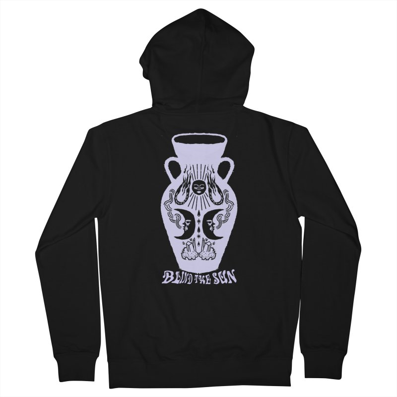 Vessel in Women's French Terry Zip-Up Hoody Black by Blind The Sun's Shop