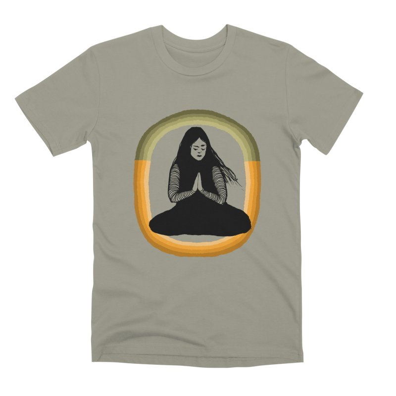 Hope in Men's Premium T-Shirt Pebble Grey by Blind The Sun's Shop