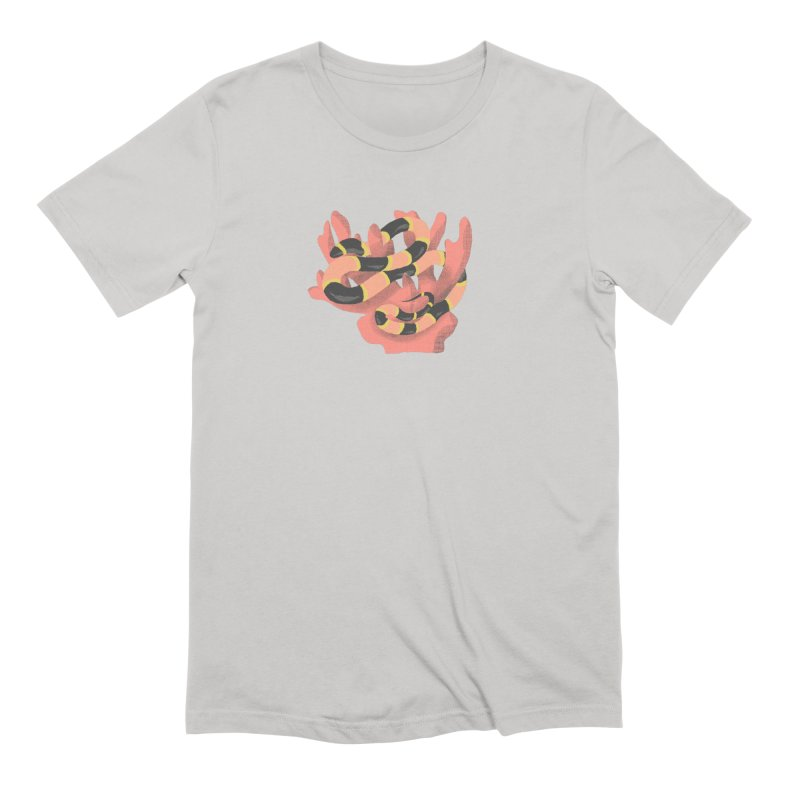 coral snake in Men's Extra Soft T-Shirt Stone by Blind The Sun's Shop