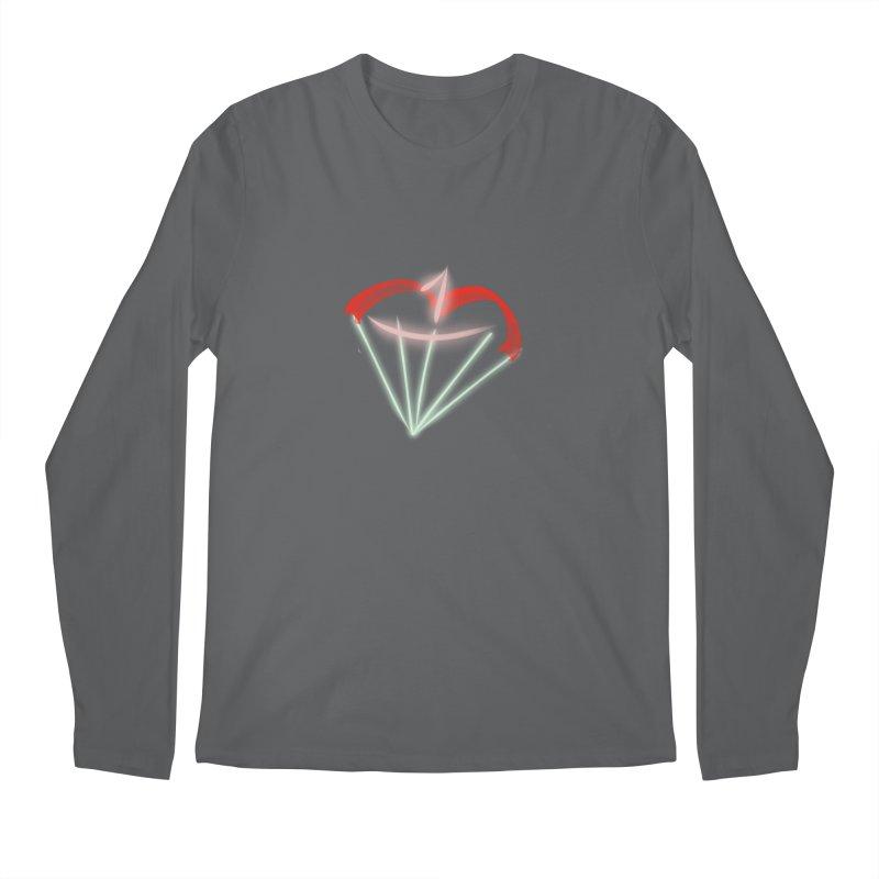 1Kiss Logo Men's Longsleeve T-Shirt by blinkkittylove's Artist Shop