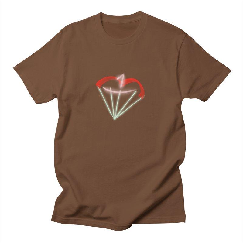 1Kiss Logo Men's T-shirt by blinkkittylove's Artist Shop