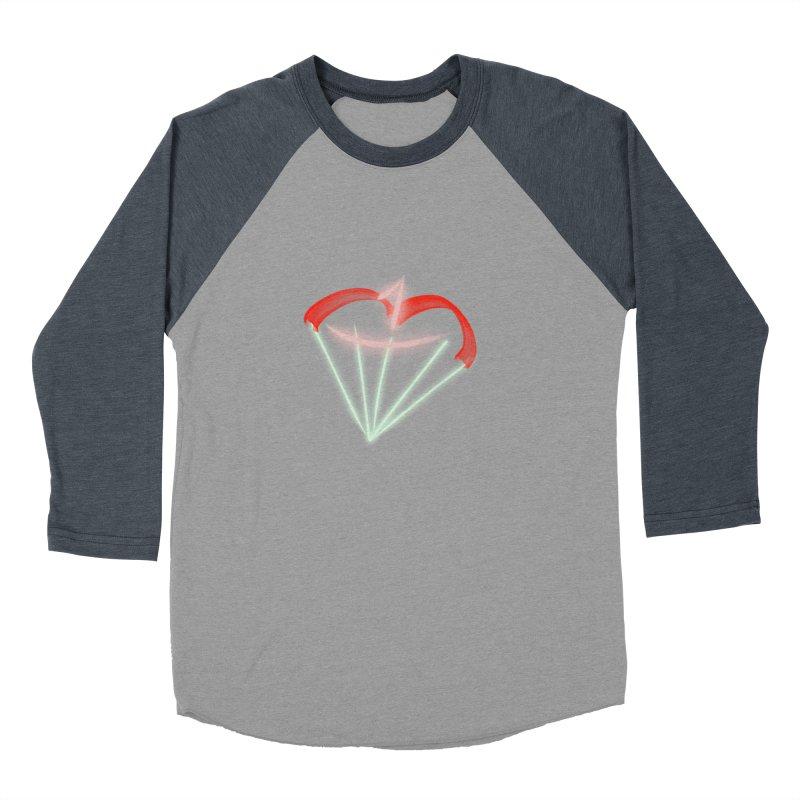 1Kiss Logo Women's Baseball Triblend T-Shirt by blinkkittylove's Artist Shop