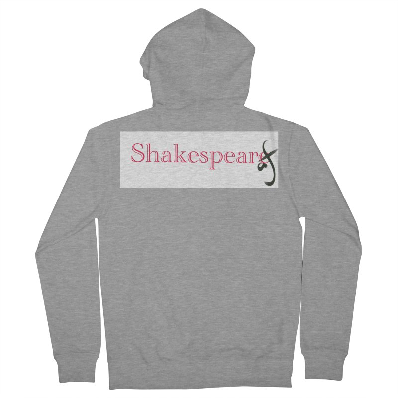 ShakespeareAF Women's Zip-Up Hoody by blinkkittylove's Artist Shop