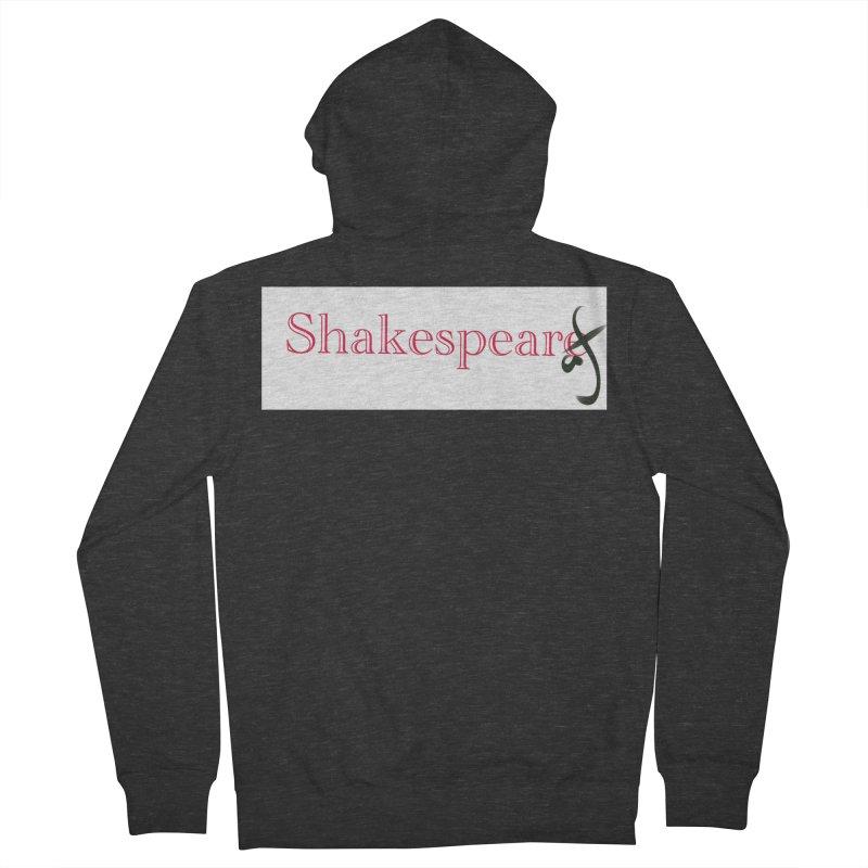 ShakespeareAF Men's Zip-Up Hoody by blinkkittylove's Artist Shop