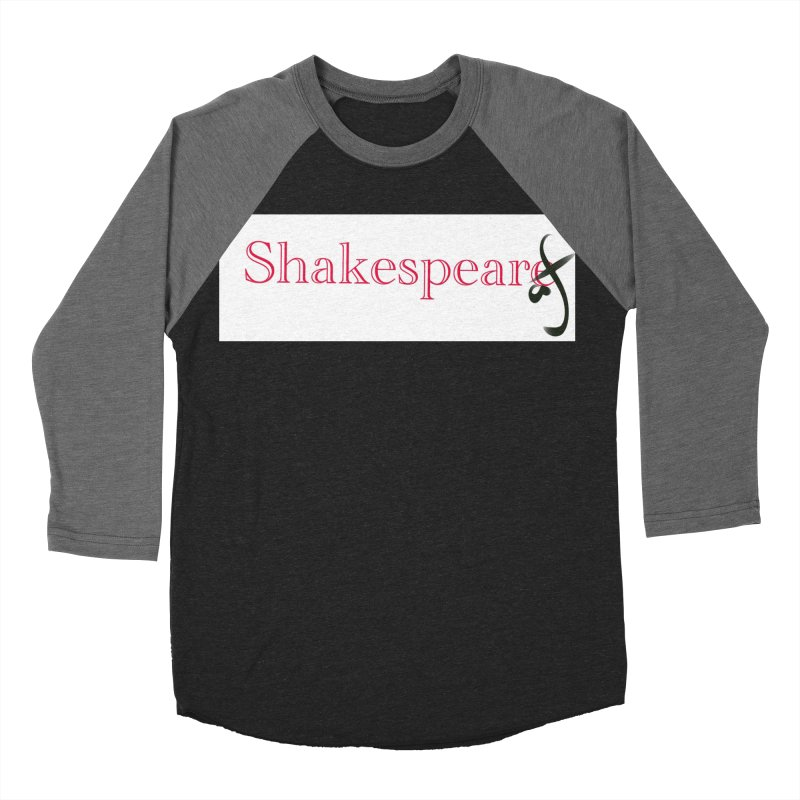 ShakespeareAF Men's Baseball Triblend T-Shirt by blinkkittylove's Artist Shop