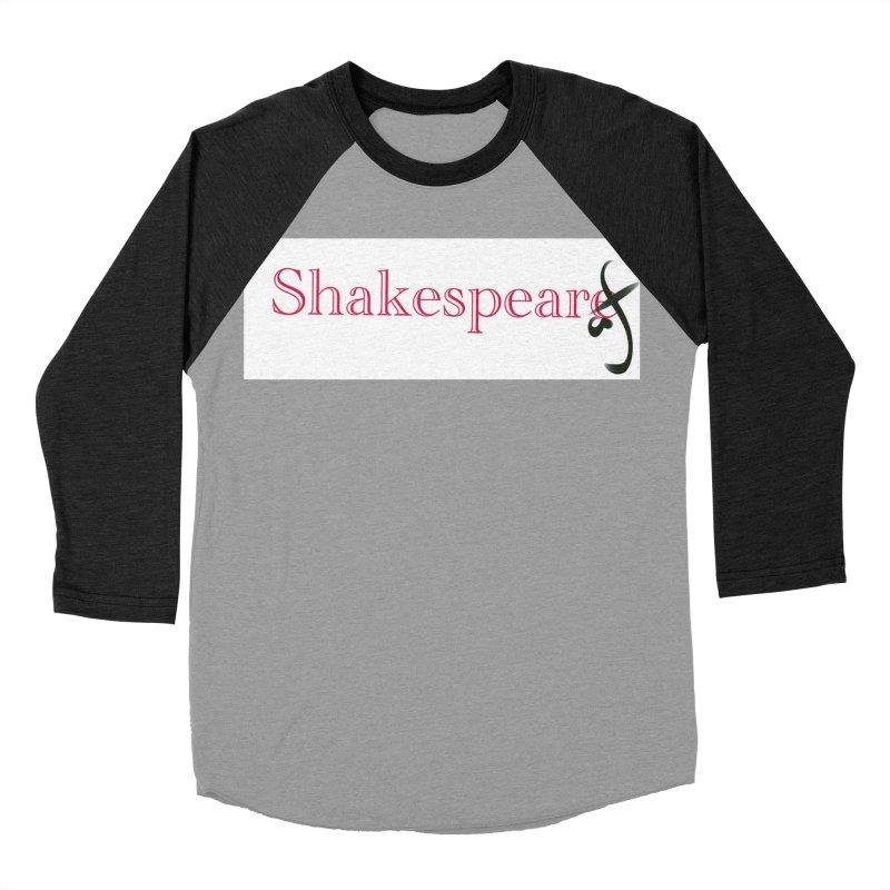 ShakespeareAF Men's Baseball Triblend T-Shirt by blinkkittylove's Artist Shop