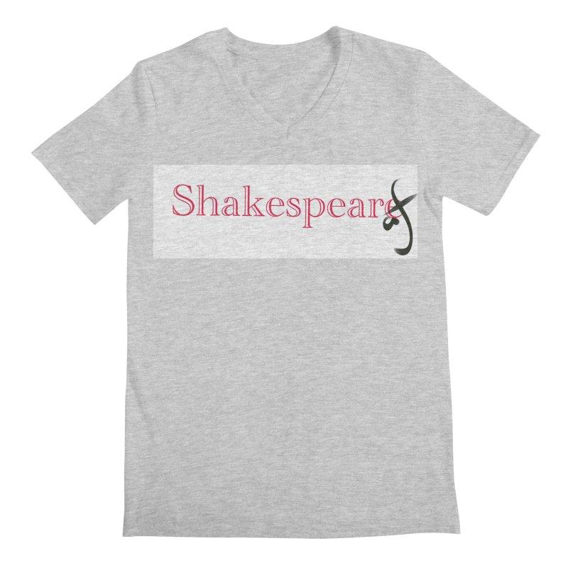 ShakespeareAF Men's V-Neck by blinkkittylove's Artist Shop