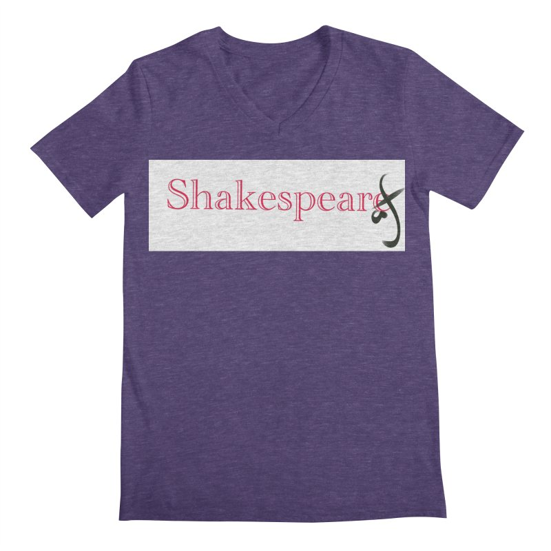 ShakespeareAF Men's V-Neck by blinkkittylove's Artist Shop