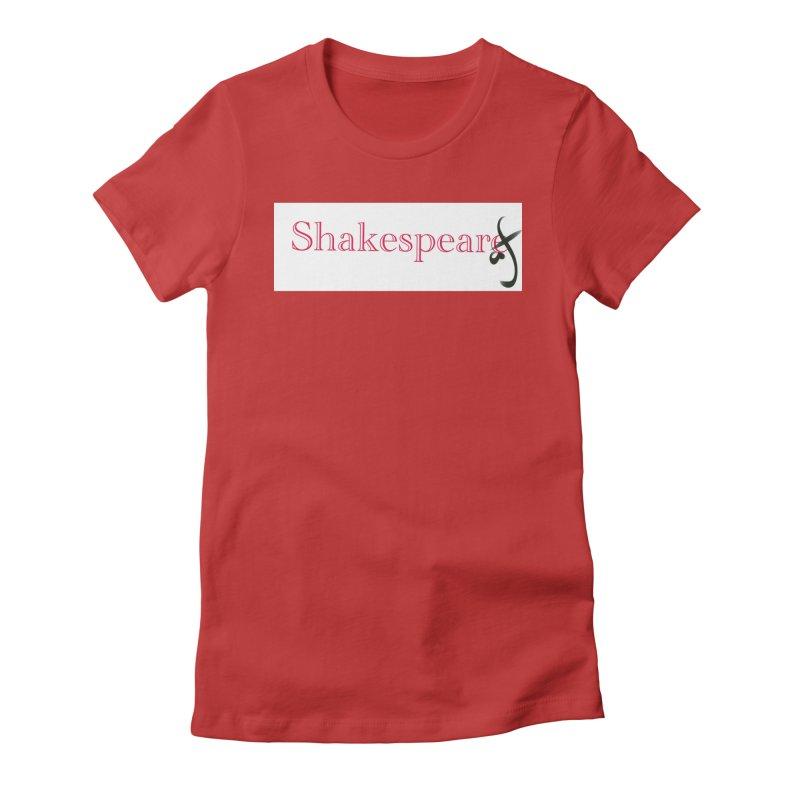 ShakespeareAF Women's Fitted T-Shirt by blinkkittylove's Artist Shop