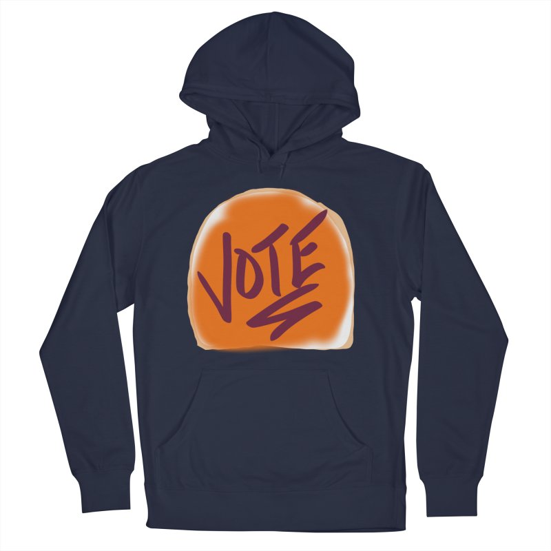 Peanut Butter and Vote... Women's Pullover Hoody by blinkkittylove's Artist Shop